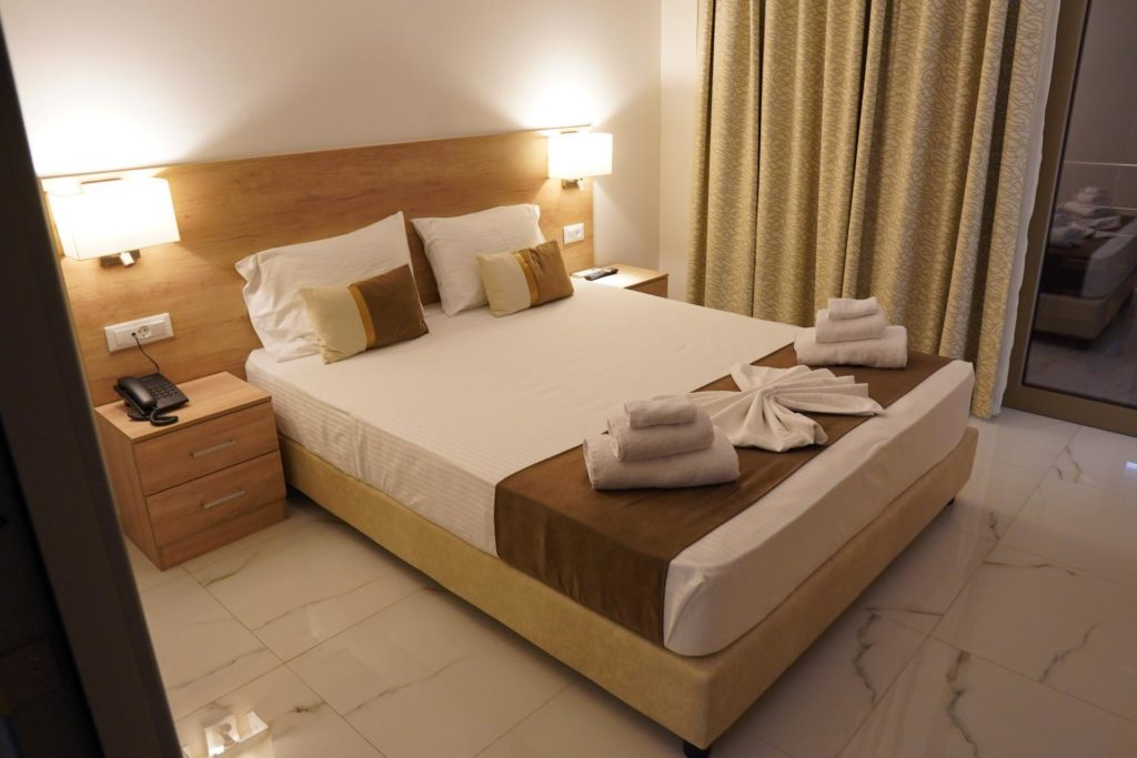 Quadruple Room Bed 2-Marvel Deluxe Rooms Heraklion Crete