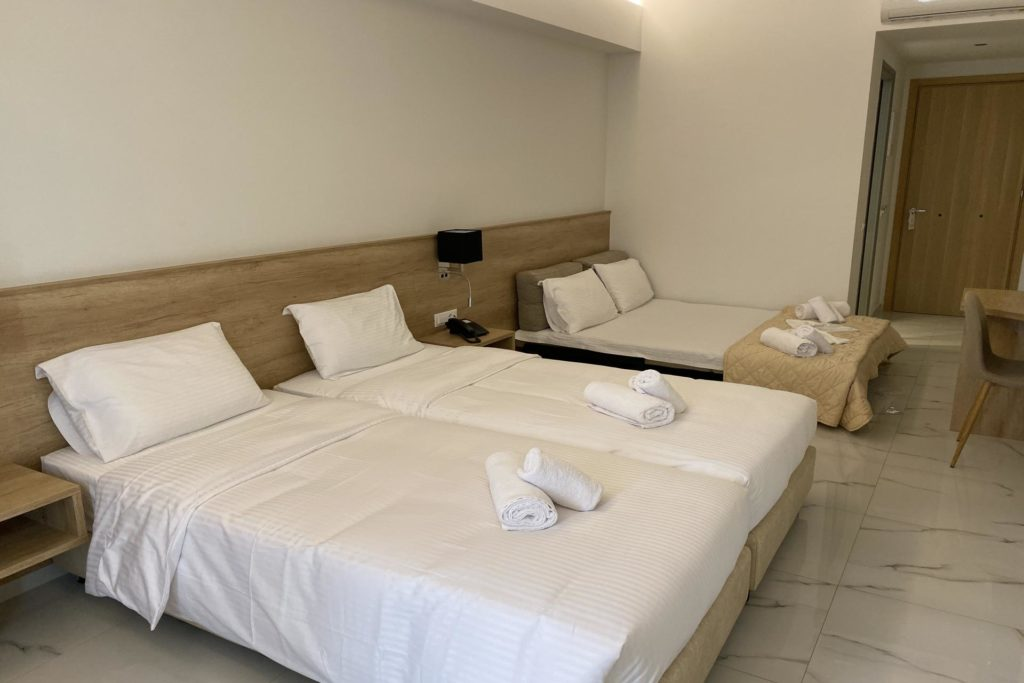 Quadruple Room Twin Beds 1 Marvel Deluxe Rooms Heraklion Crete