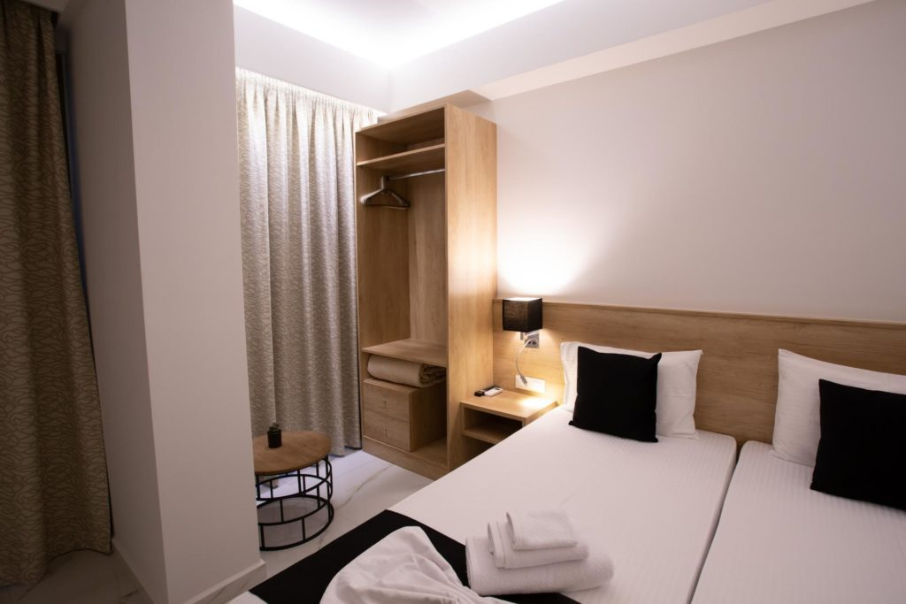 Quadruple Room Twin Beds 4 Marvel Deluxe Rooms Heraklion Crete