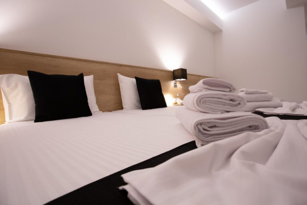 Quadruple Room Twin Beds Details 1 Marvel Deluxe Rooms Heraklion Crete