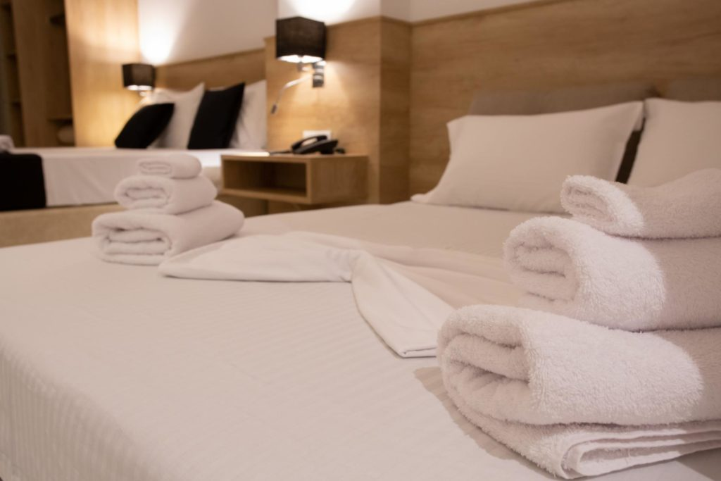 Quadruple Room Twin Beds Details 2 Marvel Deluxe Rooms Heraklion Crete
